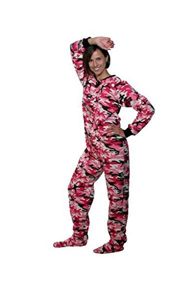Pink Camo Womens Pajamas
