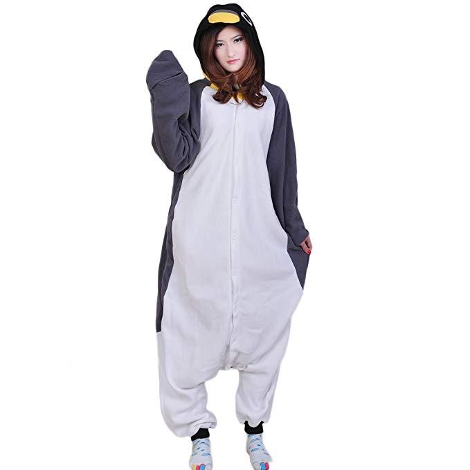 Datangep Unisex Halloween Christmas Cosplay Costume Animal Onesie Pajamas