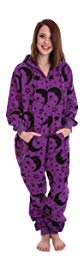 Wizard Non Footed Pajama Adult Onesie Sleepsuit XS-XXLarge, Size on Height