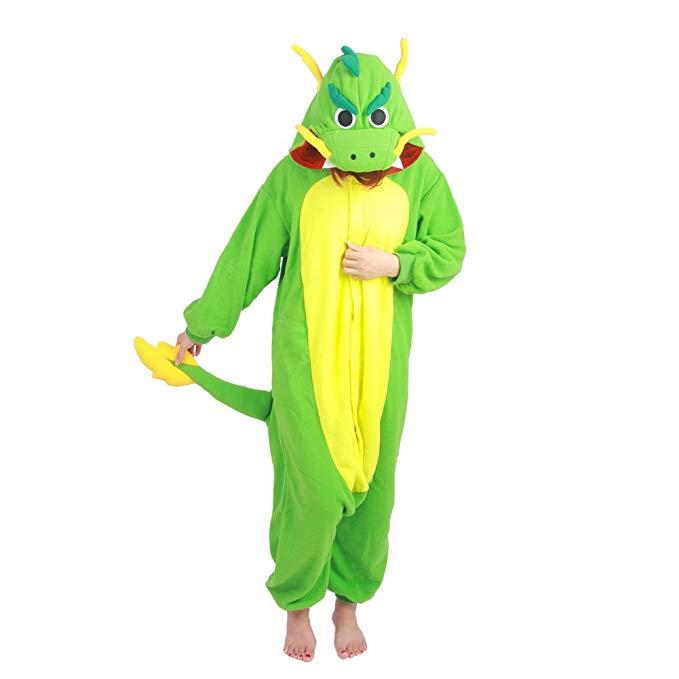 Datangep Halloween Unisex Winter Wear Pajamas Christmas Carnival Party Costume