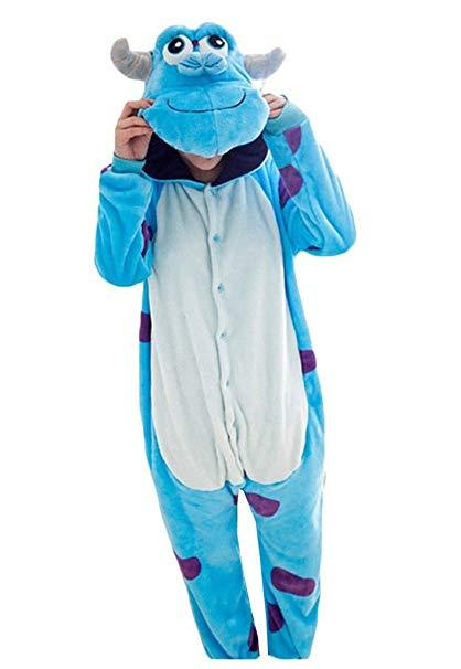 VIGEROUS Winter Animal Halloween Costume Onesie Adults Sleeping Wear Cosplay