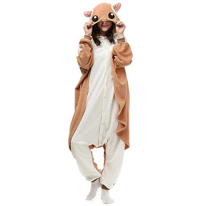 NINI.LADY Unisex Sleepsuit Pajamas Cosplay Costume Adult Sleepwear…