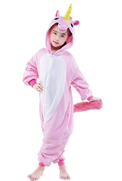 Famycos One-Piece Animal Costumes Pajama for Unisex Family School Cosplay Party