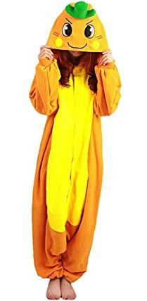 Lava-ring Anime Onesie Pajamas Warm Hooded Homewear Jumpsuits Cosplay Costumes