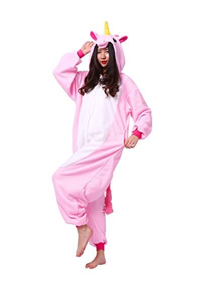 Magicmode Adult Animal Unicorn Cosplay Costume Anime Onesie Hoodie Pajamas Sleepwear